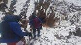 باشگاه خبرنگاران - نجات جان فرد گرفتار شده در ارتفاعات منطقهی تنگ لی لی شهرستان دورود