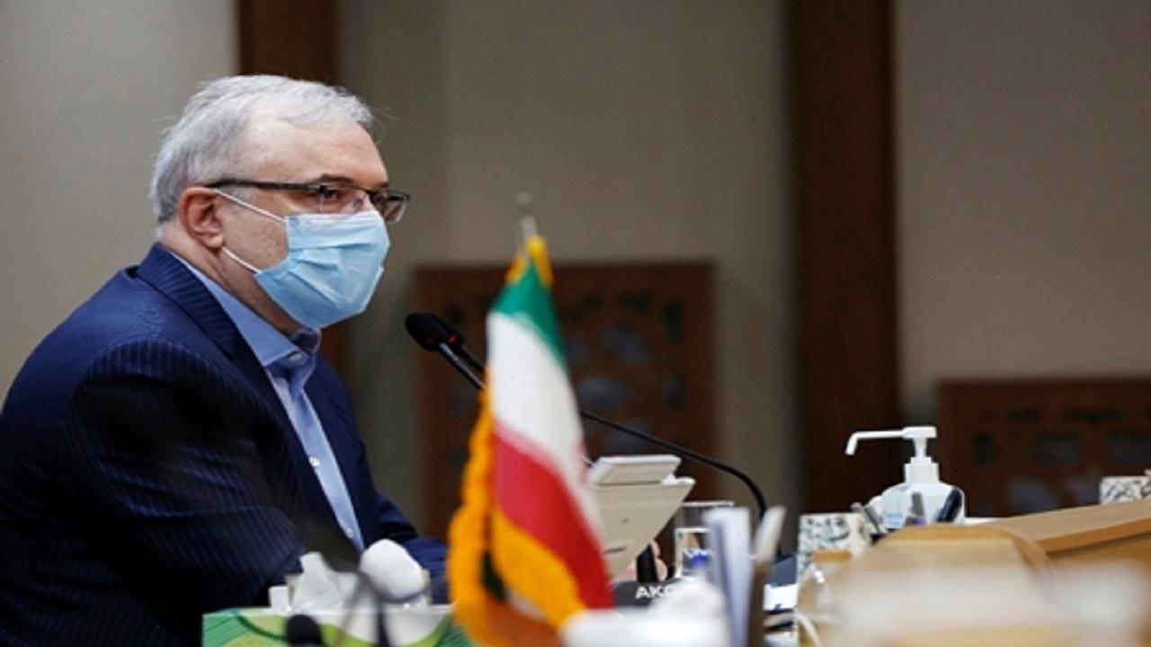 وزیر بهداشت: آمارها در بسیاری از شهرها بیش از شاخصهای قرمز است/ اتمام واکسیناسیون گروه اول تا اواسط هفته بعد