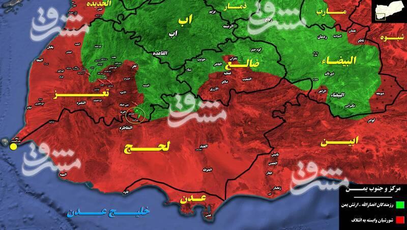 جنوب استان الجوف محور جدید برای قیچی کردن ائتلاف در شمال شهر مارب + تصاویر