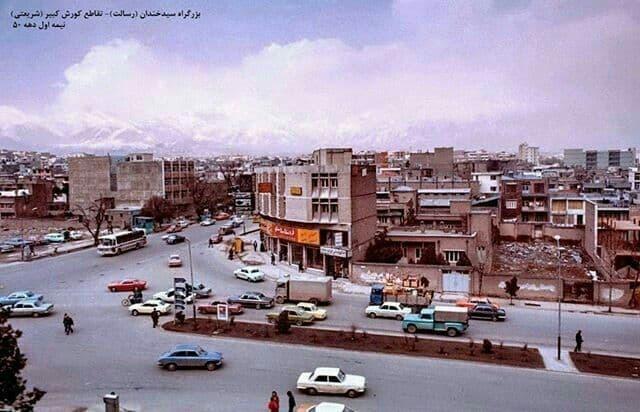 بزرگراه سید خندان (رسالت) - تقاطع