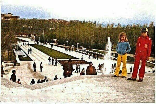پارک ملت تهران سال ۱۳۵۷