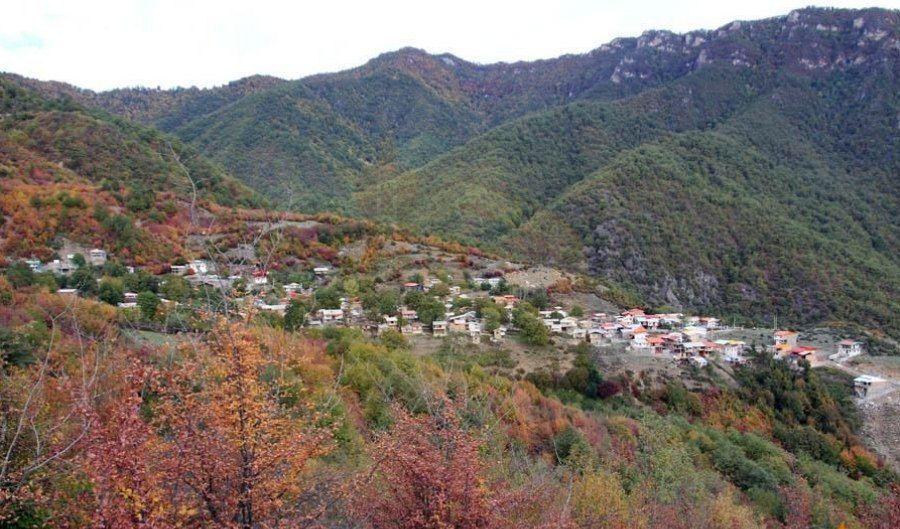 ارتفاعات روستای مایان