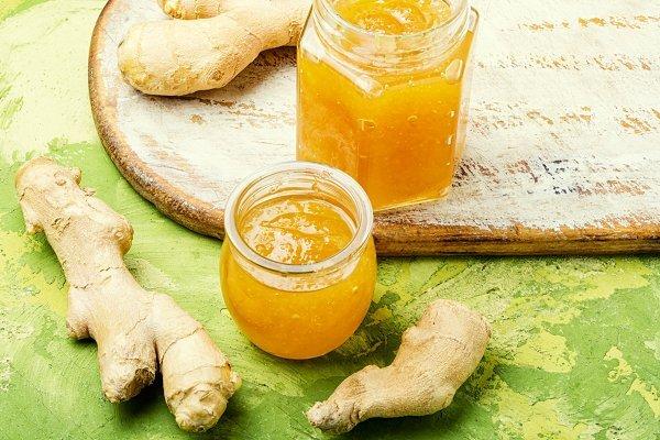 ۲ طرز تهیه مربای زنجبیل تازه با شکر و بدون شکر ؛ خوشمزه و تقویت کننده سیستم ایمنی