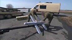 عملیات پهپاد انتحاری روسی علیه گروه تروریستی جبهه النصره + فیلم