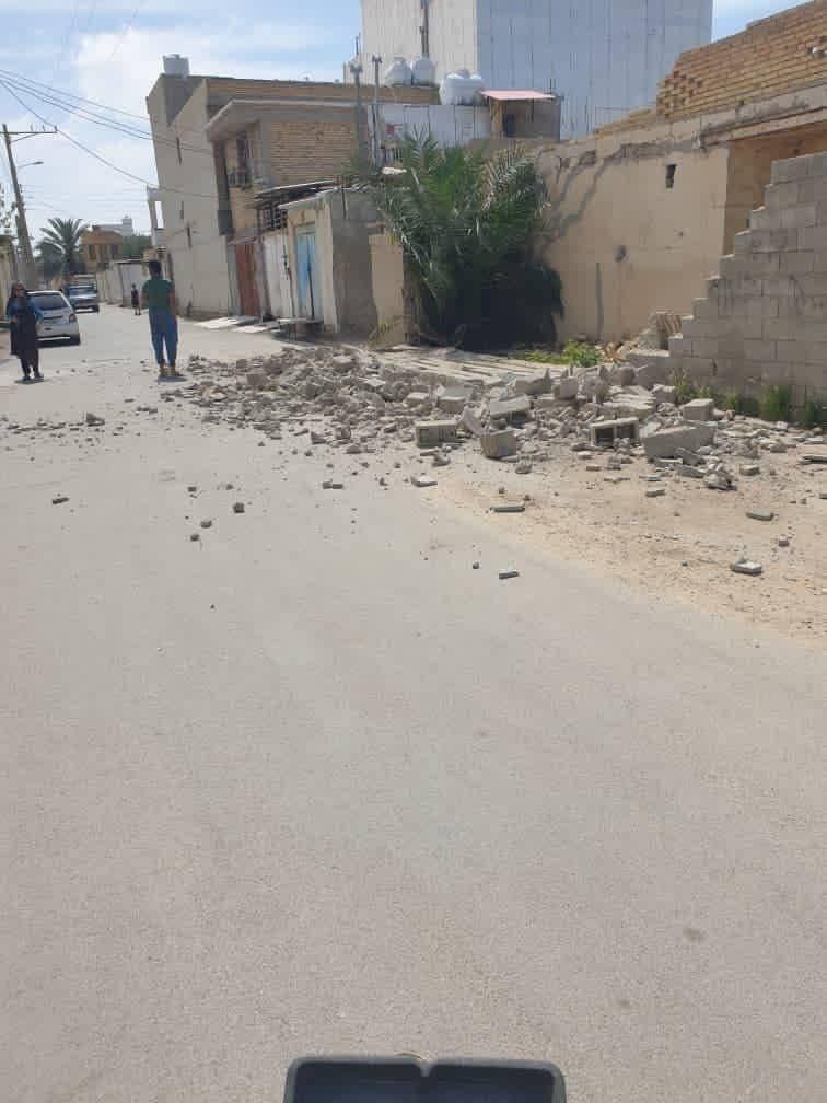 زلزله ۵.۹ ریشتری جنوب ایران را لرزاند