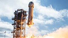 جف بزوس سفینه فضایی New Shepard را از تگزاس به فضا فرستاد