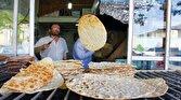 باشگاه خبرنگاران -توزیع نان به صورت رایگان میان خانوادههای کم برخوردار رامشیر