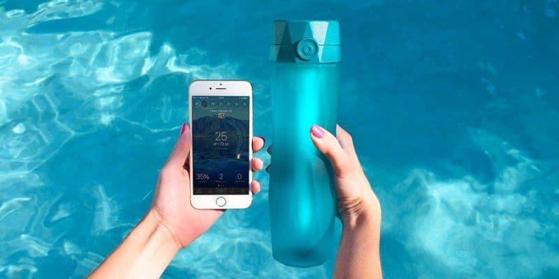 بطری آب هوشمند