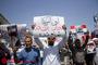 راهپیمایی مردم قم در حمایت از مردم یمن و تشییع شهید سیدابوالفضل شیخ زاده