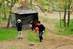 روز طبیعت در اراضی تفریحی عباس آباد