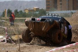 دومین مرحله مسابقات آفرود قهرمانی کشور