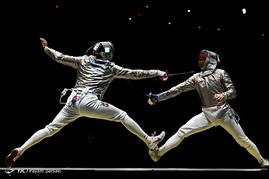 ورزشکاران شمشیربازی در المپیک ریو 2016
