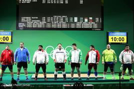رقابتهای وزنه برداری در المپیک ریو 2016