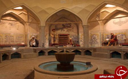 رازهای تاریخی در کاشیهای حمام سمنان! + تصاویر