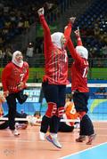 رقابت والیبال نشسته بانوان ایران و هلند در مسابقات پارالمپیک 2016