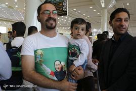 استقبال از ساره جوانمردی قهرمان رقابتهای تیراندازی پارالمپیک ریو 2016 - شیراز
