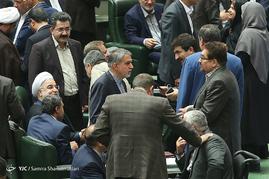 جلسه رای اعتماد به وزرای پیشنهادی دولت در مجلس شورای اسلامی