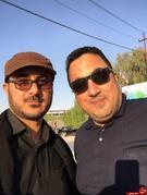 تصاویری از هنرمندان در پیادهروی اربعین حسینی