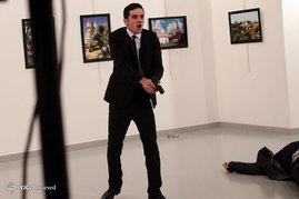 ترور سفیر روسیه در ترکیه