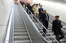 بهره برداری از فاز نخست خط دوم قطار شهری مشهد