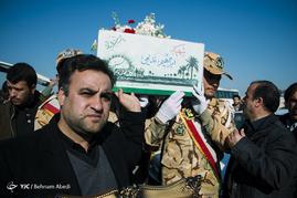 استقبال از پیکر 11 شهید دوران دفاع مقدس- تبریز