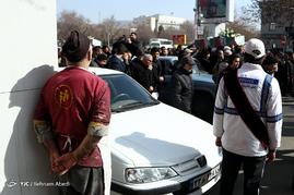 تشییع پیکر 11 شهید دوران دفاع مقدس- تبریز