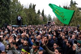 تشییع 1 شهید دفاع مقدس و 1 شهید گمنام - شیراز