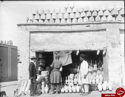 تصویری نایاب از بوشهر/شرکت واحد در دهه 40/ قدیمی ترین تصویر از میدان فردوسی