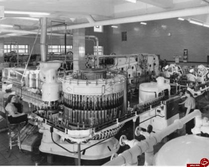 کارخانه پپسى کولاى تهران در زمان قدیم