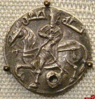 سکه دوره عباسیان سال ٧٦٥ میلادى