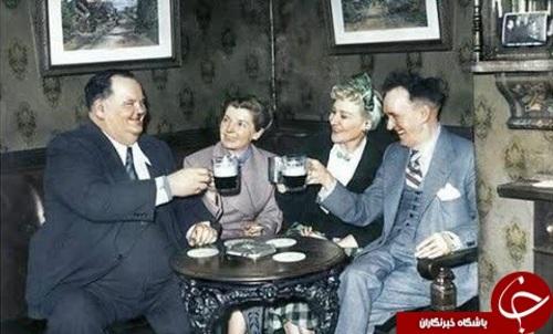 لورل و هاردی در کنار همسرانشان