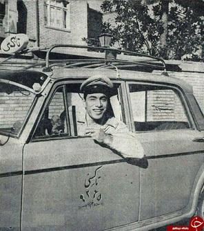 تاکسی هایِ شهر تهران، اواسط دهه ۴۰خورشیدی