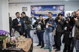 لحظه تحویل سال نو در فرمانداری تهران در روز ثبتنام انتخابات شورای شهر
