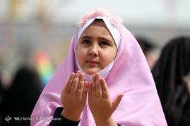 لحظه تحویل سال ۱۳۹۶در حرم امام رضا(ع)