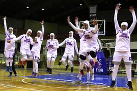 ديدار تیمهای بسكتبال كوشا سبلان و گاز تهران در حضور ناظر فدراسيون جهانى بسکتبال