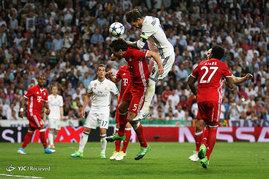 دیدار تیمهای فوتبال رئال مادرید و بایرن مونیخ