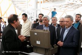 افتتاح نمایشگاه و دستاوردهای پارک علم و فناوری دانشگاه تهران