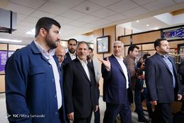 حضور اسحاق جهانگیری در ستاد انتخابات وزارت کشور