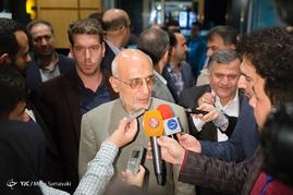 حضور سیدمصطفی میرسلیم در ستاد انتخابات وزارت کشور