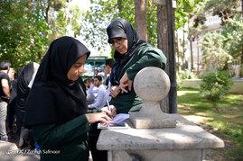نقطه وصل مردم و نظام - بیمارستان فیروز آبادی