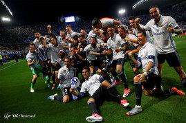 جشن قهرمانی رئال مادرید