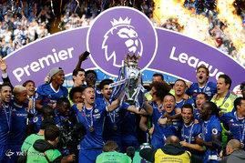 قهرمانی چلسی در لیگ برتر انگلیس