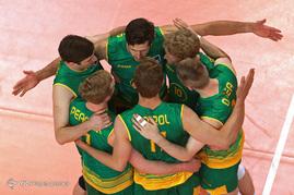 دیدار تیمهای والیبال ایران و استرالیا 