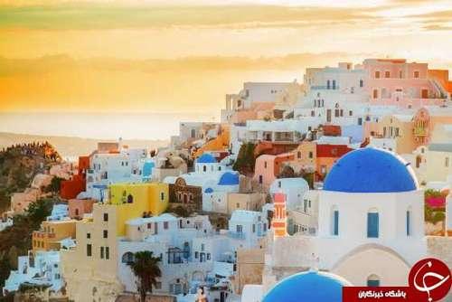 سانتورینی - یونان