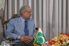 دیدار رئیس قوه قضائیه با رئیس مجلس سنای پاکستان