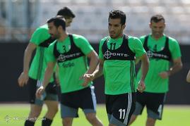 آخرین تمرین تیم ملی فوتبال پیش از دیدار با سوریه