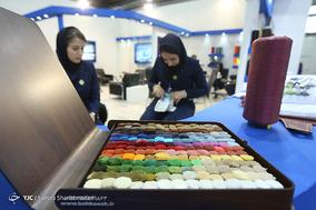 افتتاحیه  نمایشگاه صنعت نساجی با حضور وزیر صنعت و معدن