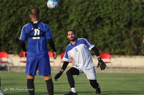 تمرین تیم ملی فوتبال پیش از بازی با سوریه