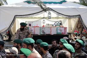مراسم تشییع پیکر مطهر شهید محسن حججی
