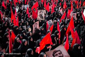 مراسم تشییع پیکر مطهر شهید محسن حججی - 2